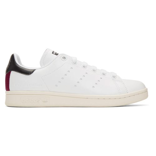 Stella McCartney White adidas Edition Vegan Stan Smith Sneakers as seen on Meghan, Duchess of Sussex