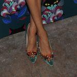 Shoes: Meghan Markle wearing Miu Miu at Miu Miu Women's Tales 7th Edition - 'Spark & Light' Screening - Arrivals at Diamond Horseshoe on February 11, 2014 in New York City.