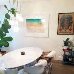 Gray Malin Coogee Beach Horizontal Print as seen in Meghan Markle's Toronto home.