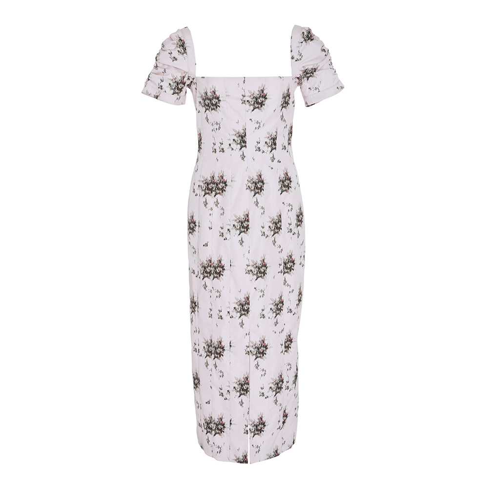 Brock Collection 'Odilia' Floral Printed Poplin Midi Dress as seen on Meghan, Duchess of Sussex.