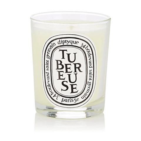 Diptyque Tubereuse Candle as used at the Royal Wedding of Prince Harry and Meghan Markle, Duke and Duchess of Sussex.