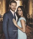 Meghan Markle and Prince Harry unseen engagement photo.