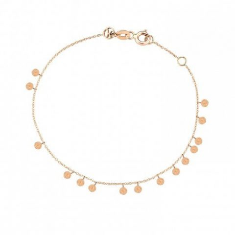 Kismet by Milka Dangle Seed Circles Bracelet as seen on Meghan Markle / Duchess of Sussex