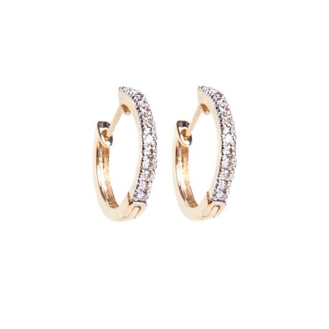 i + i Diamond Half Hoop Earrings as seen on Meghan, Duchess of Sussex