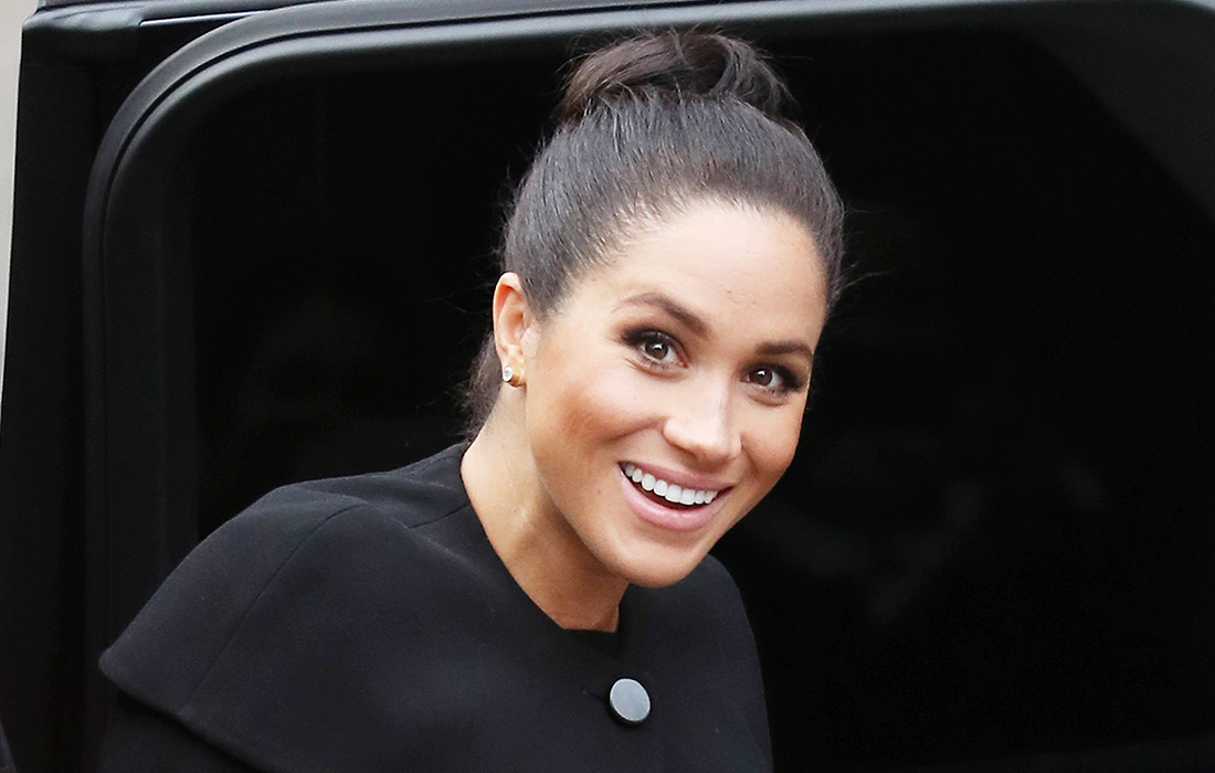 Meghan, Duchess of Sussex visits the Association of Commonwealth Universities at City, University Of London on January 31, 2019 in London, England.