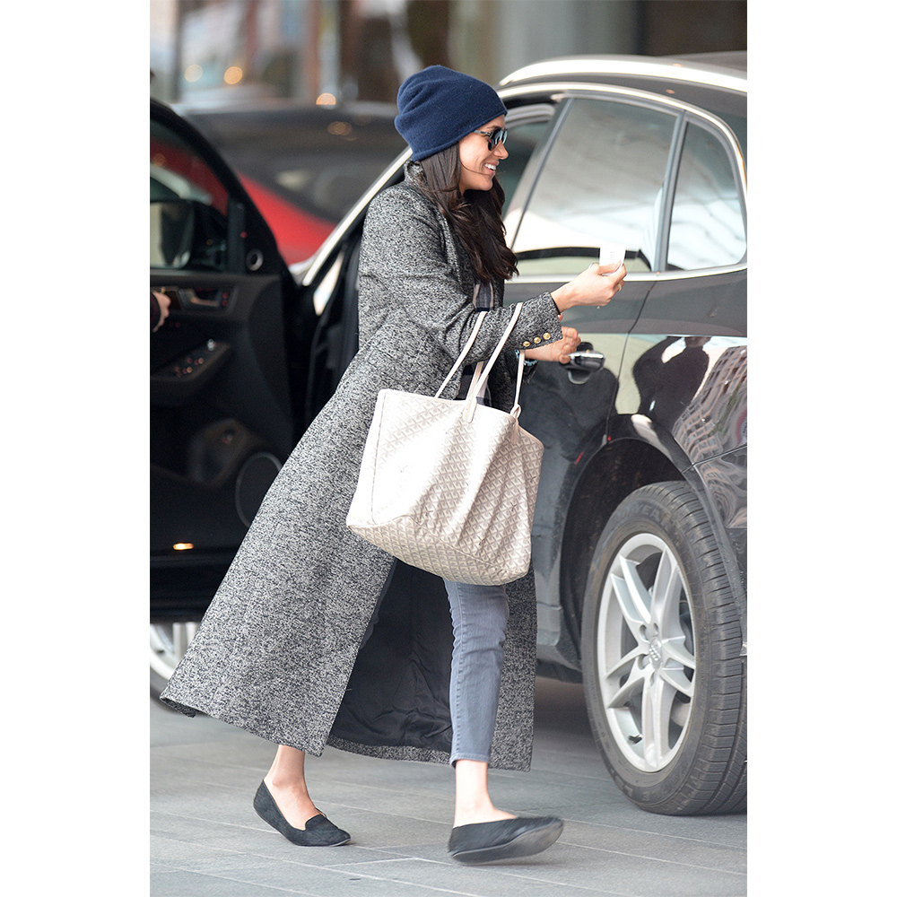 Meghan Markle out and about in Toronto in December 2016.