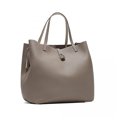 Carolina Herrera 'Matryoshka' Locked L Large Shopping Bag as seen on Meghan, Duchess of Sussex