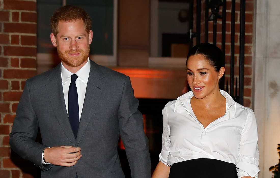 Meghan, Duchess of Sussex and Prince Harry, Duke of Sussex attend the Endeavour Fund Awards at Drapers' Hall on February 07, 2019 in London, England.