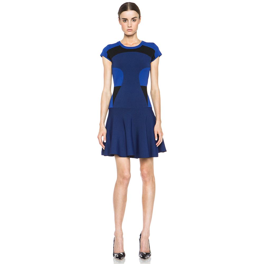 Diane von Furstenberg Renee color-block stretch-jersey dress as seen on Meghan Markle