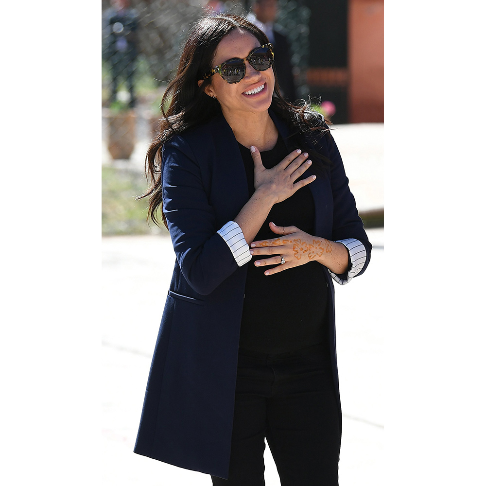 Meghan, Duchess of Sussex in Asni, Morocco on February 24, 2019.