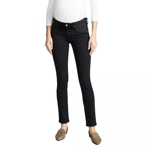 Rag & Bone/JEAN Maternity Skinny Jeans in Coal as seen on Meghan Markle, Duchess of Sussex