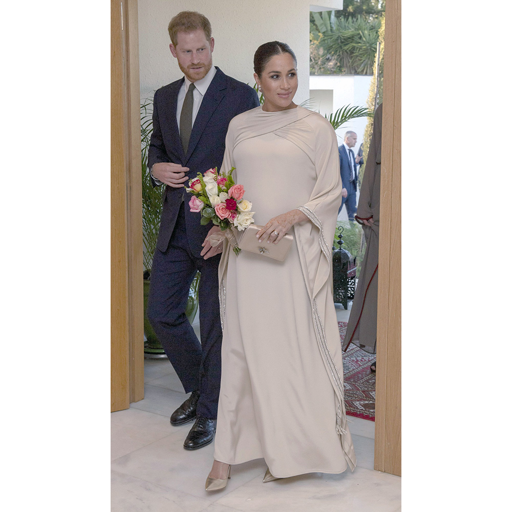 Meghan, Duchess of Sussex at a reception in Rabat, Morocco on February 24, 2019.
