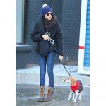 Meghan Markle walking her dog Guy in Toronto in December 2016.Meghan Markle walking her dog Guy in Toronto in December 2016.