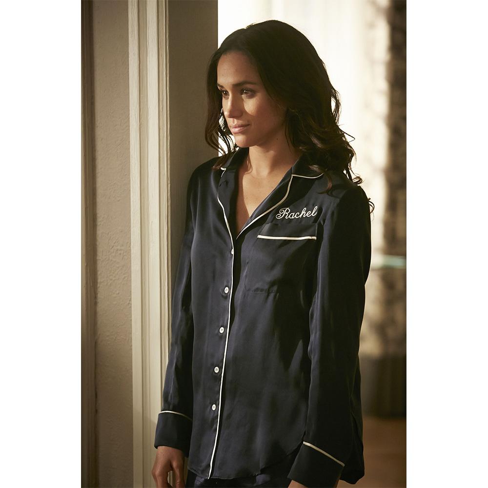 Meghan Markle as Rachel Zane on Suits Season 4 Episode 2
