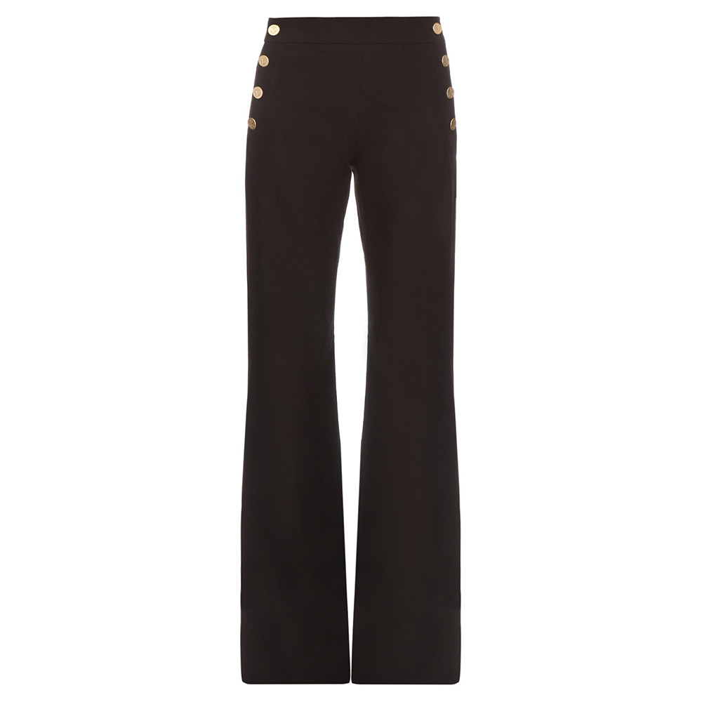 Max Mara 'Stemma' wide-leg sailor trousers as seen on Meghan Markle