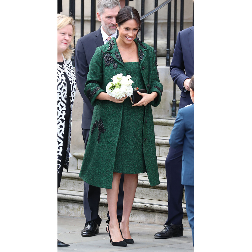 Meghan, Duchess Of Sussex attend a Commonwealth Day Youth Event at Canada House on March 11, 2019 in London, England.